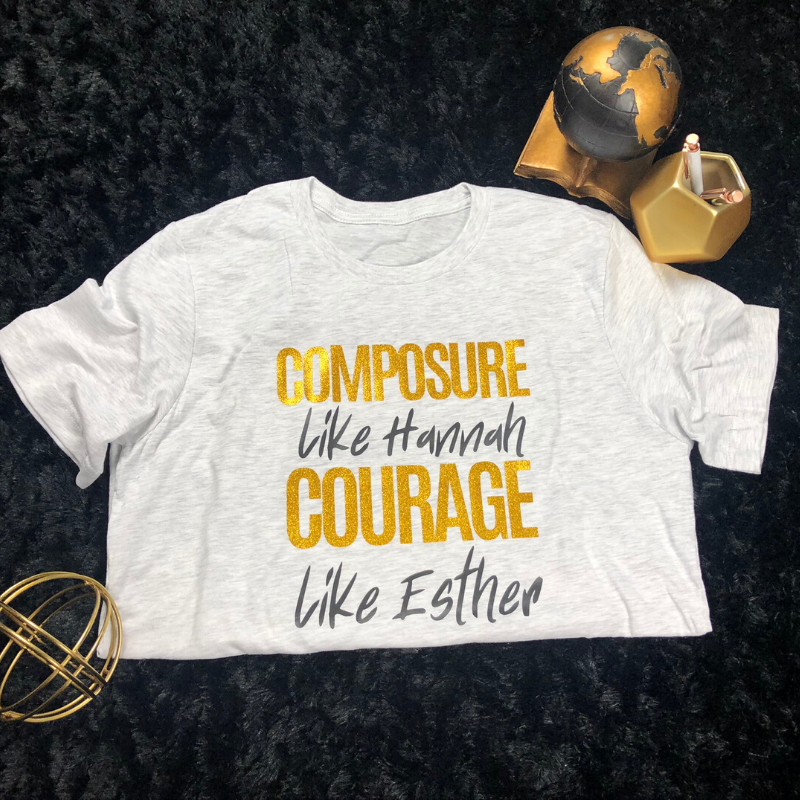 COMPOSURE AND COURAGE
